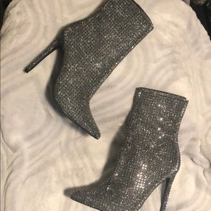 Steve Madden Cardi B wifey ankle boots